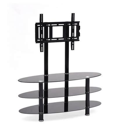 Flat Import 3 omnimount studio 3b 2 shelf flat panel floor stand with 32 to 45 flat panel adapter find it at