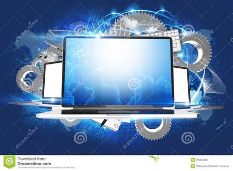 design a background for your computer laptop workstations stock illustration illustration of