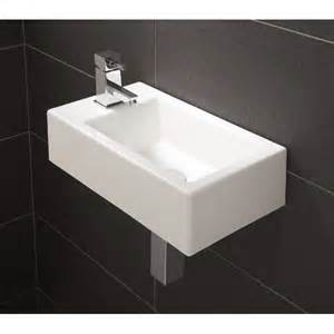 Small Bathroom Basins Uk Hib Metro Cloakroom Basin