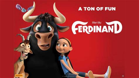 cineplex ferdinand ferdinand from blue sky studios and carlos saldanha the