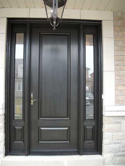 Door Lites Exterior Doors Front Entry Doors Fiberglass Doors Modern Doors Woodgrain Door Solid Door With 2 Side Lites