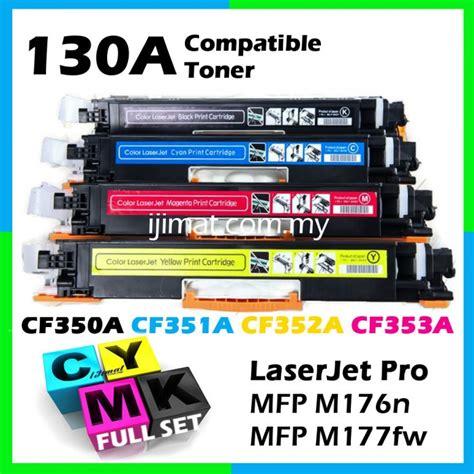 Toner Hp Color Pro Mfp M176 M177 Magenta Amazlnk Toner Refill hp 130a cf350a cf351a cf352a cf353a set
