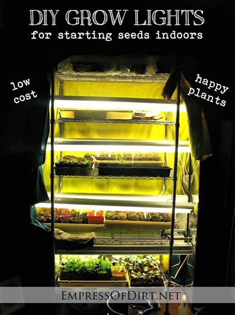 starting seeds indoors lights 35 best images about hydroponics diy secrets and guides