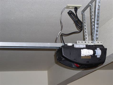 Garage Door Opener Jerks When Closing Turn Your Manual Overhead Garage Door Into An Electric