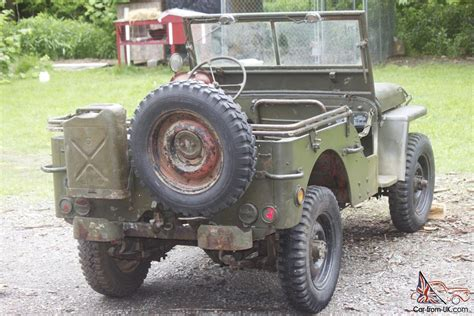 1945 Army Jeep 1945 Willys Jeep Ford Gpw Wwii Jeep Army