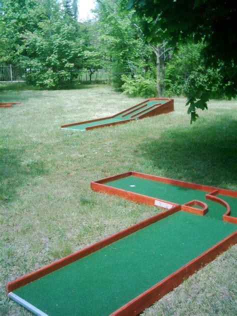 house mini golf portable minigolf courses