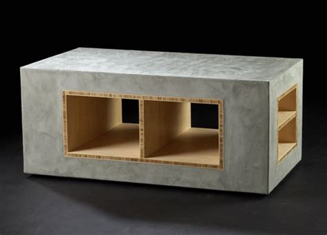 Cement Furniture by Rolling Concrete Furniture From Industries Contemporist