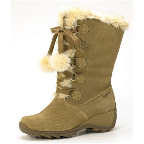 sporto boots reviews s sporto 174 jojo waterproof lace up boots 110729