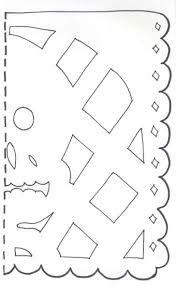 Resultado De Imagen De Papel Picado Pattern Templates Papel Picado Papel Picado Day Of The Free Printable Papel Picado Template