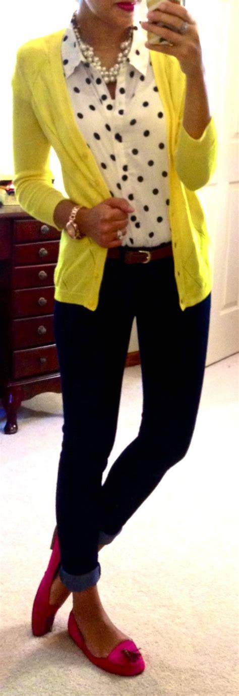 Gamis Polka Cardi polka dot blouse citron cardigan black skinnys my