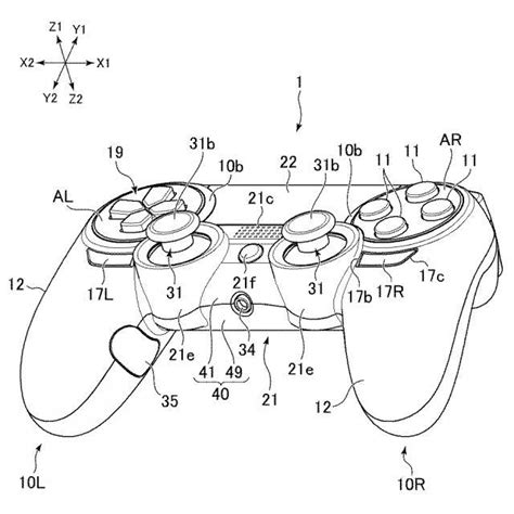 sony patents new dualshock 4 controller with new buttons