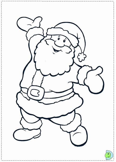 Coloring Pages Of Santa Claus   Kids Coloring