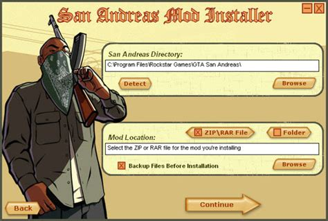 San Andreas Game Mod Installer | san andreas mod installer download