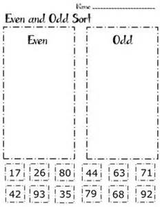 1000 ideas about even and odd on pinterest math place