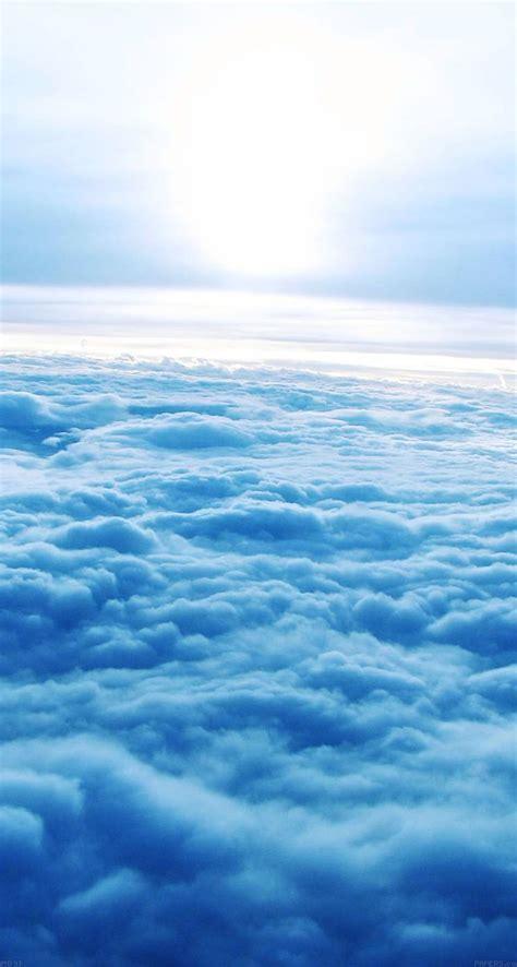 wallpaper tumblr ios blue clouds the iphone ios7 retina wallpaper i like