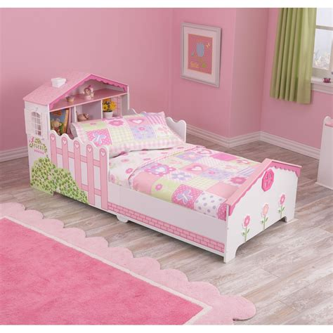 house bed for girl girls toddler dollhouse bed unique childrens beds