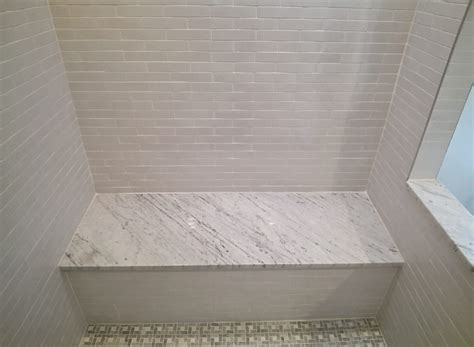 Bathroom With Shower And Tub Master Bath Remodel Elite Development Washington Dc
