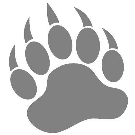 printable stickers amazon amazon com grizzly bear paw print vinyl decal sticker 5