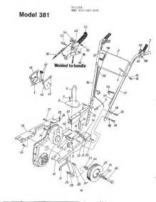 tiller diagram parts list for model 211381000 mtd parts tiller parts searspartsdirect