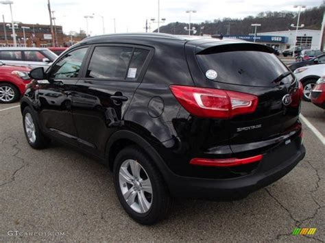 Kia Sportage 2014 Black 2014 Kia Sportage Black Car Interior Design