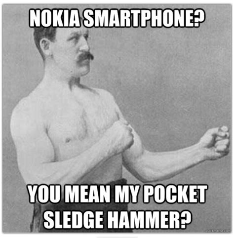 Nokia Lumia Meme - nokia continues makes fun of other manufacturers