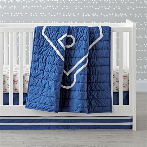 baby boy baseball crib bedding boys crib bedding sets the land of nod