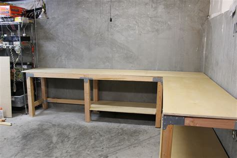 bench design ideas garage work bench plans home design ideas