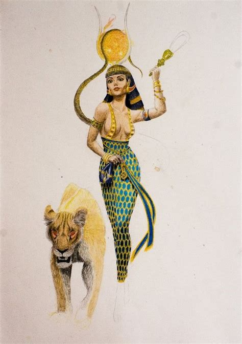 egyptian goddesses tattoos hathor the gilded wip by sekhmet the on deviantart