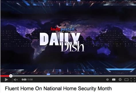 news travels far and wide home security month
