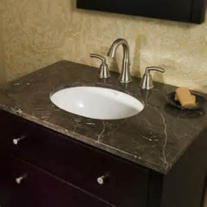 How To Install Bathroom Undermount Sinks To Granite Amazing Bathroom Vanities Tops Granite Using Grey Marble