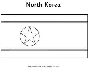 south korea flag free colouring pages