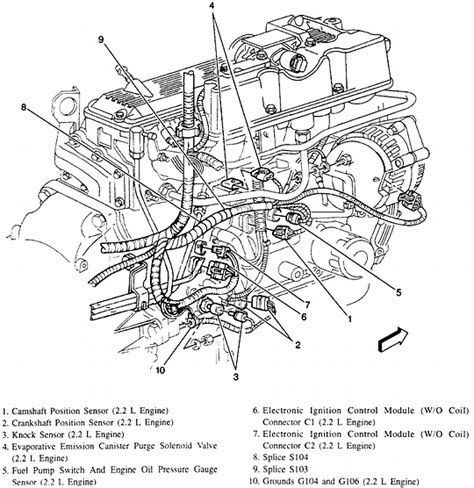 chevrolet s10 2 2l engine diagram get free image about