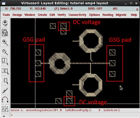 pads layout video tutorial layout of an amplifier multifunctional integrated