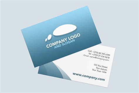Free Two Sided Business Card Template by Business Cards Sided Sided Business Cards