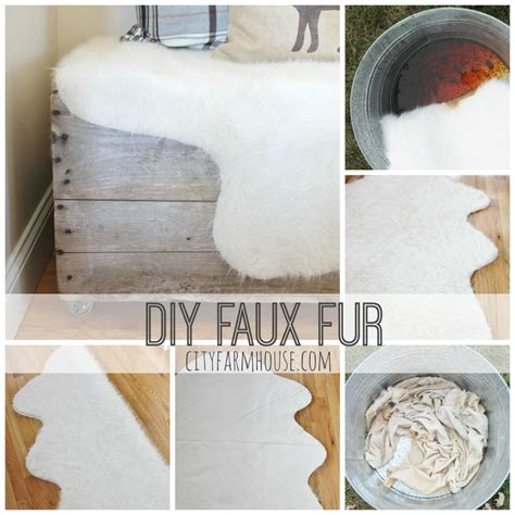 how to make a faux fur rug easy diy faux fur rug fa la la free printable city farmhouse
