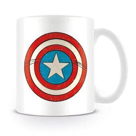 Captain America Peace Forever Kaos captain america shield marvel comics retro mug mg23442 character brands