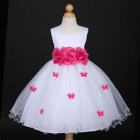 Dress Baby 6 12 Bulan Butterfly butterfly flower dresses bridesmaid dresses