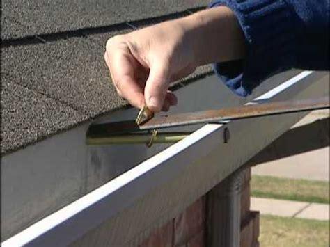 how to repair a saggy gutter doovi