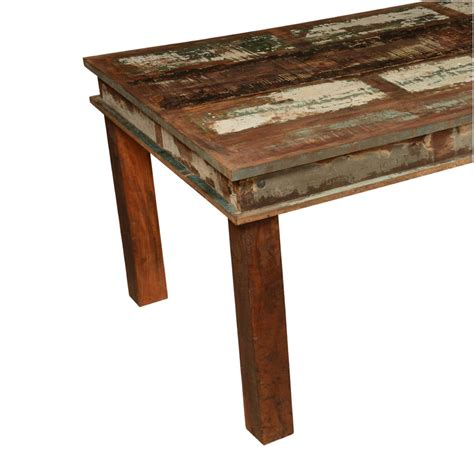 rustic wood dining bench appalachian distressed reclaimed wood 96 rustic dining table
