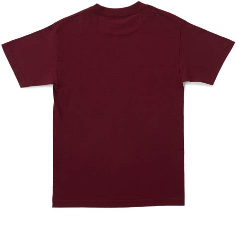 Tshirt Baker baker bomb t shirt maroon