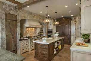 Stone Kitchens Design by 30 Inventive Kitchens With Stone Walls