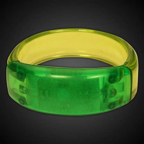 led bangle bracelet badges bracelets necklaces rings