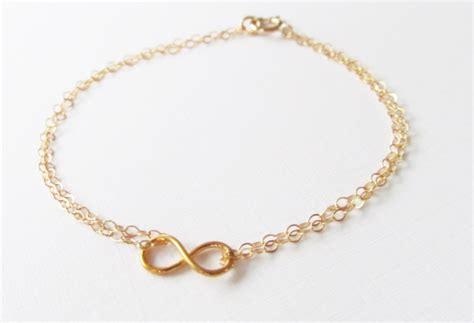 gold infinity bracelets mini infinity bracelet 14kt gold filled bracelet gift