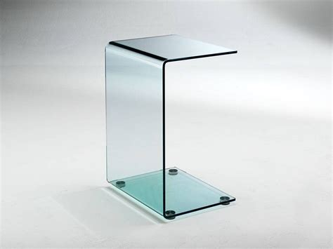 small crystal table curved crystal small table calamita
