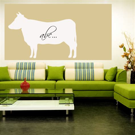 whiteboard wall stickers wallstickers folies cow whiteboard wall stickers