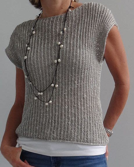 arm knit sweater pattern free knitting pattern for mimic pullover shorter sleeved