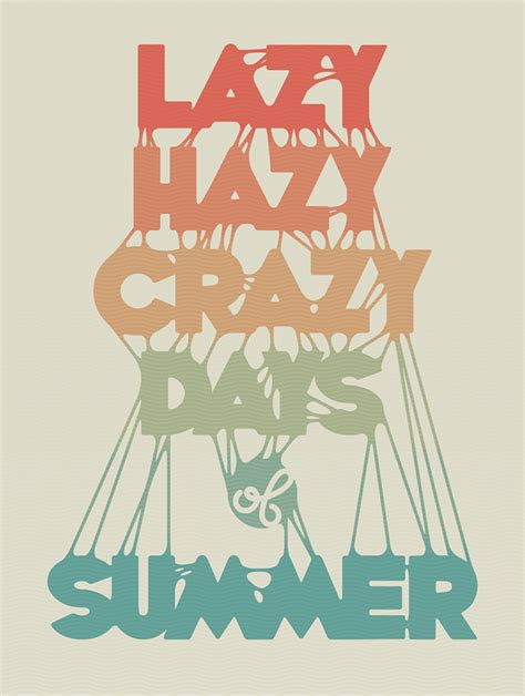 typography tutorial using illustrator create a sticky summer typography printable poster in