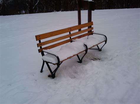 bench in snow free stock photo public domain pictures
