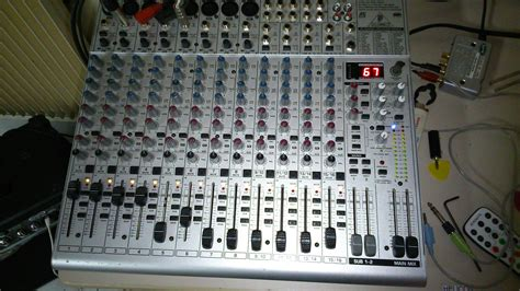 Mixer Behringer Ub2222fx behringer eurorack ub2222fx pro image 949799 audiofanzine