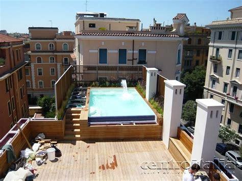 piscina in terrazza piscine da terrazzo costruzione piscine in terrazzo